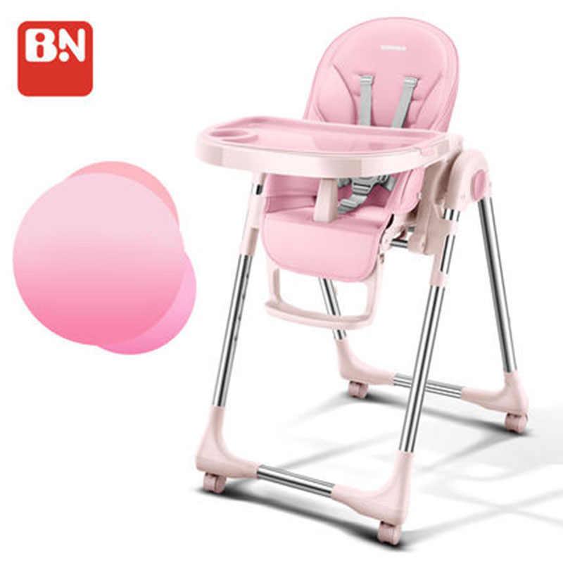 Baoneo assento de bebê portátil, cadeiras dobráveis ajustáveis multifunções e portáteis para jantar de bebê