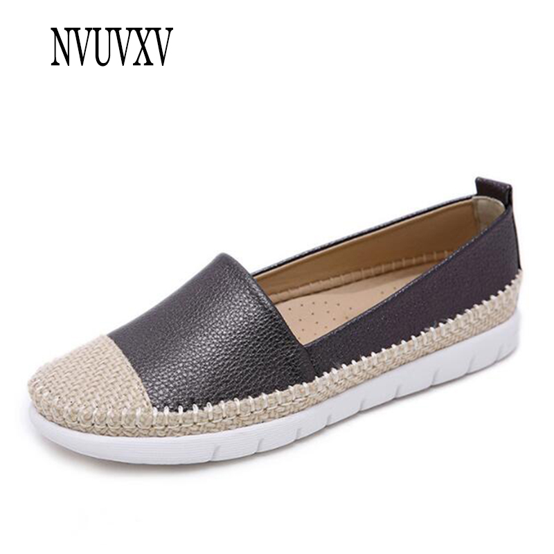 Nuevas Redonda Cómodos Pescador gris Tamaño Gran Plano Moda Cabeza Solos Cáñamo Sh203 2019 Zapatos De Zapato Ocasionales Mujeres Negro BBdqf