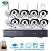 1MP CCTV System 720P 8CH HD Wireless NVR Kit 3TB HDD Outdoor IR Night Vision IP