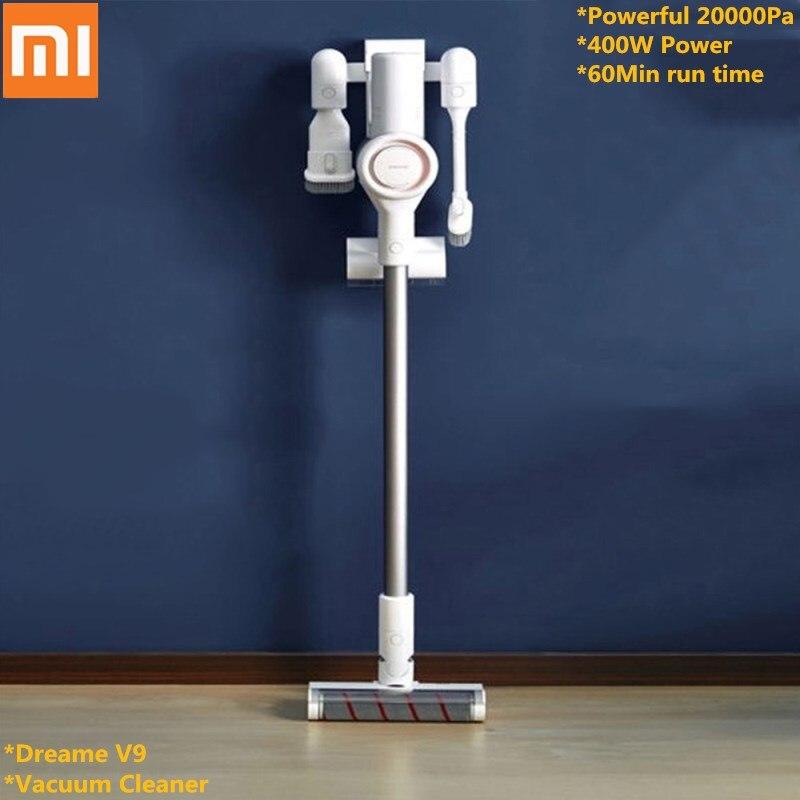 Xiaomi Youpin Dreame V9 Aspirador de pó Portátil Sem Fio Vara Aspirador Aspiradores 20000 Pa 400 w para Home Office Carro dentro uso