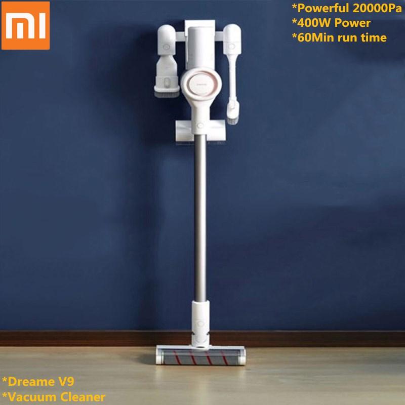 Xiaomi Youpin Dreame V9 aspirateur à main sans fil bâton aspirateur nettoyeurs 20000 Pa 400 w pour maison bureau voiture à l'intérieur utilisation