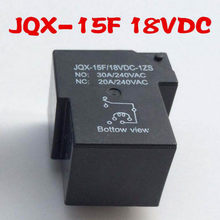 1 st JQX-15F/18VDC-1ZS 5 Pins High Power Relais 0.9 w 30A/240VAC Elektromagnetische Relais(China)