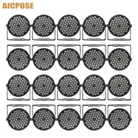 20Pcs/lots Led Par Lights 54x3W RGB 3in1 Disco Wedding Party Wall Wash Light 54*3W DMX 512 Controller Effect Stage Light
