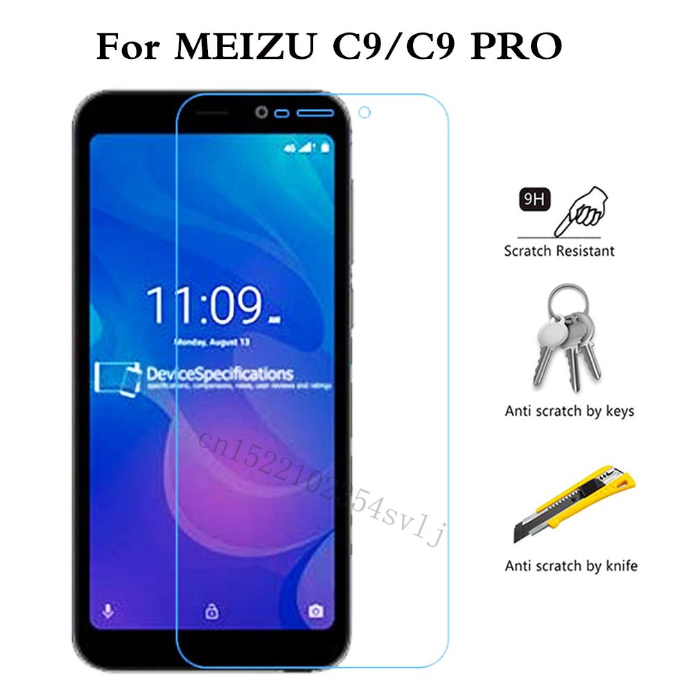 Premium Tempered Glass For MEIZU C9 PRO Screen Protector Toughened Protective Film For MEIZU C9 Case Glass