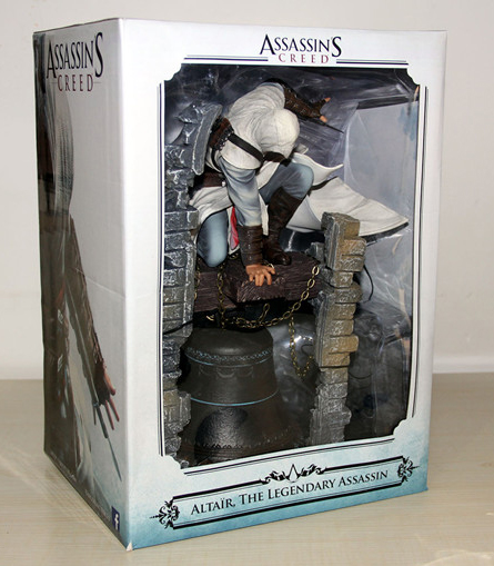 New Hot Game Assassin's Creed Altair The Legendary Assassin Bell Tower  28CM Action Figure велосипед altair city high 28 19 2015 dark blue