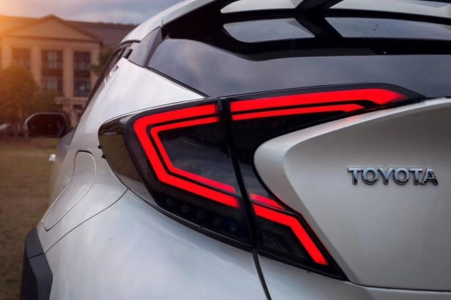 Car styling Taillights For Toyota C-HR 2017 2018
