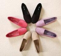 2015 New Summer Style Women S PU Espadrilles Slip On Boat Flat Weave Casual Sneakers Platform