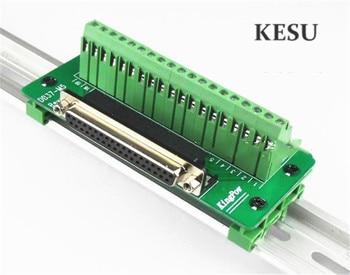 37Pin 37 pin DB37 Mannelijke vrouwelijke D-SUB DR-37 Signaal Terminal Breakout Adapter Connector met beugel