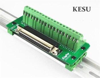 37Pin 37 pin DB37 hombre mujer D-SUB DR-37 señal Terminal de adaptación de conector de adaptador con soporte