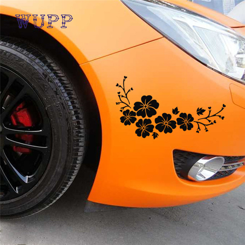 Adesivo Pegatina Flowers Decal Sticker for Cars,Walls,Laptops, and other stuff new hot styling fashion 17july10
