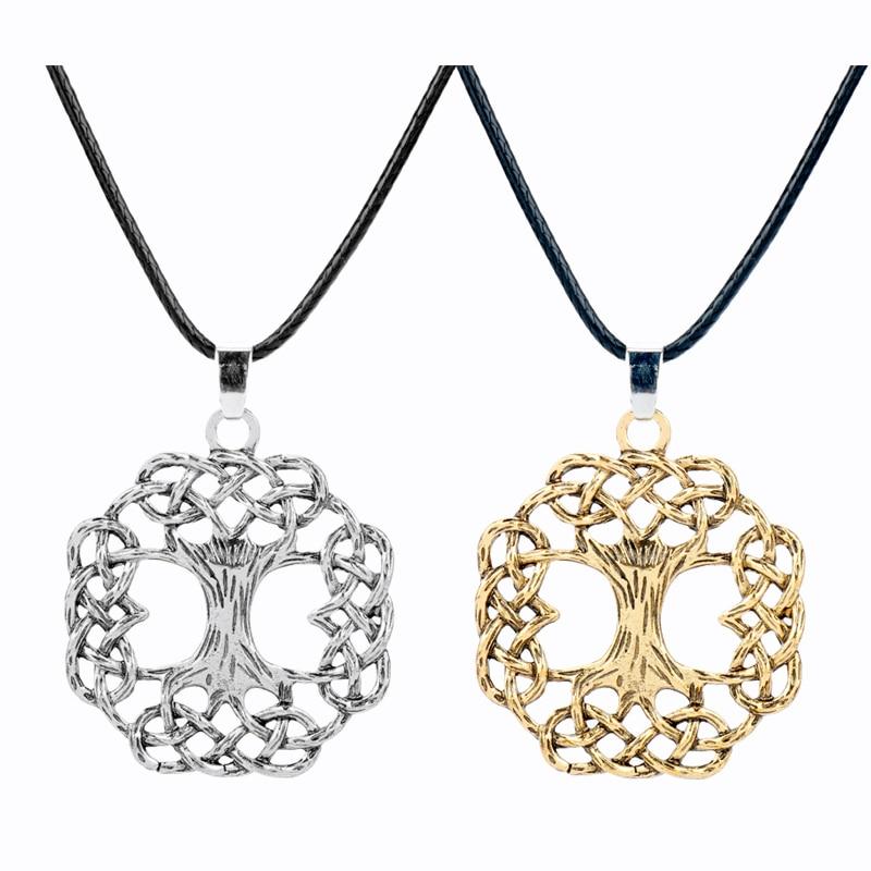 Merthus 925 Sterling Silver Charm Gemstone Flower Cross Necklace Pendant Chain