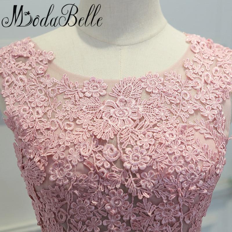 Modabelle 2017 rosa polvoriento Vestidos de dama de honor Demoiselle ...