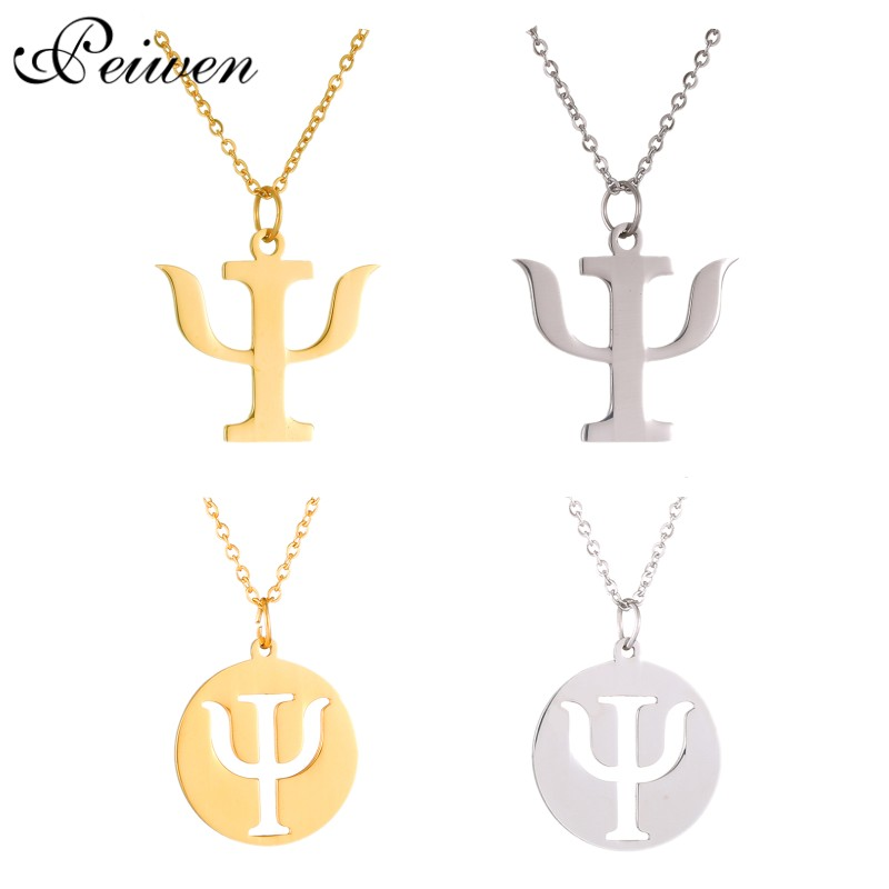 New Medical Sign Nurse Pendant Necklace Profession Charm Pendants Gold Silver Chain Stainless Steel Necklaces Women Men Jewelry