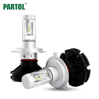 Partol 50W 12000LM H4 H1 H7 H11 9005 9006 H13 Car LED Headlights Bulbs CREE Chips