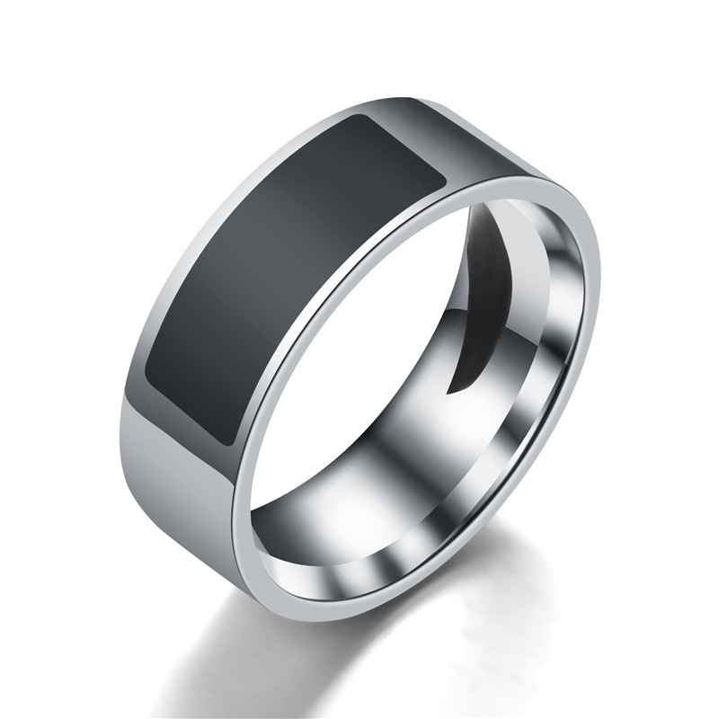 EDAL Polishing Smart Ring FNC Chip High-Tech Ring 16-22.3 Lock Phone Files Transfer Files Without Charge
