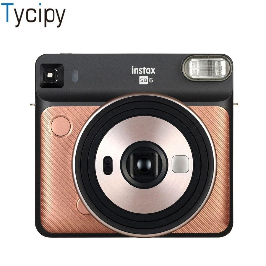 Fujifilm instax filmu SQ6 kamera do Polaroid aparat fotograficzny Film aparat fotograficzny w 3 kolorach natychmiastowy photocamera w Kamera filmowa od Elektronika użytkowa na  Grupa 1