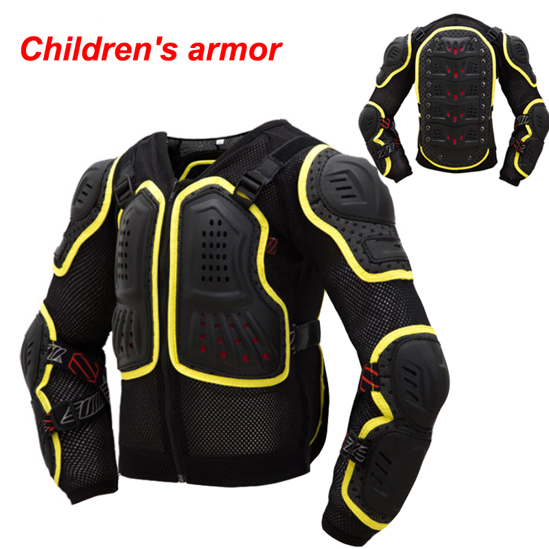Children Motorcycle Motocross Armour Full Protector Gears
