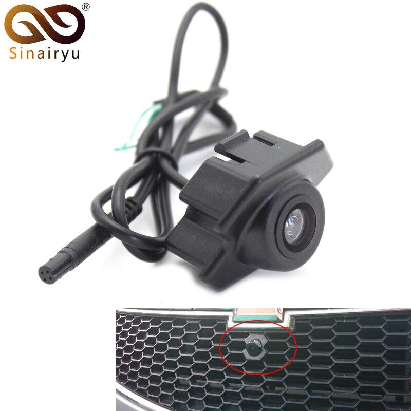 CCD caméra de Vision nocturne HD | Pour Chevrolet, caméra avant Logo comme pour Chevrolet Cruze caméra avant