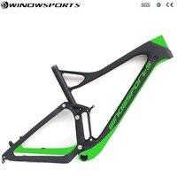 29er Full Suspension mtb Frame 142x12mm UD Carbon MTB Full Suspension Cross Country Mountain Bike Frame BB92