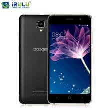 Doogee x10 mobile téléphones 5.0 pouce ips 8 gb android6.0 téléphone intelligent dual sim mtk6570 1.3 ghz 5.0mp 3360 mah wcdma gsm téléphone portable