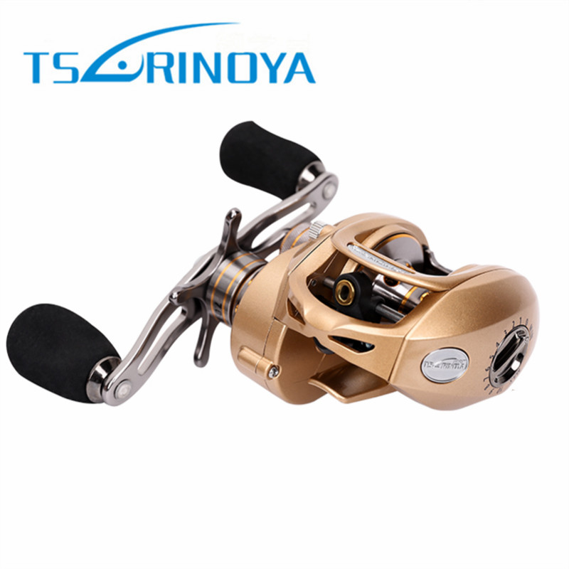 Tsurinoya Baitcasting Fishing Reel 9+1BB 7.0:1 Left/Right Hand Bait Casting Molinete Centrifugal and Magnetic Brake Casting Reel rover drum saltwater fishing reel pesca 6 2 1 9 1bb baitcasting saltwater sea fishing reels bait casting surfcasting drum reel
