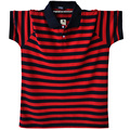 Men Striped Polo Shirt Turn-Down Collar Casual Cotton Short Sleeve Polo Shirt Male Red Gray Green Asian Size M-5XL A1589