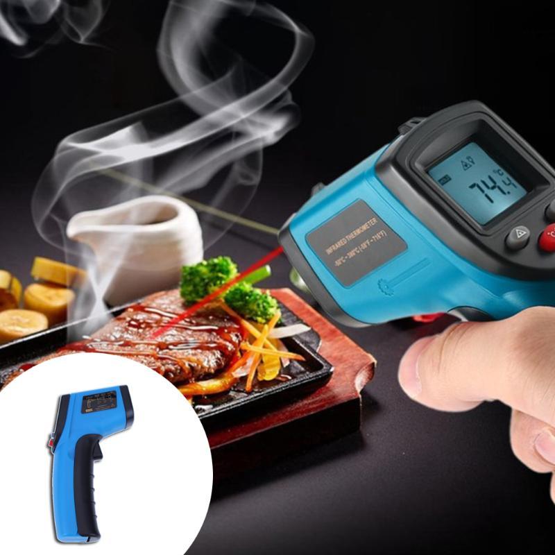 GM320 Nicht-Kontakt Digital Infrarot Thermometer Gun IR Laser Punkt Thermische Infrarot Imaging Temperatur Handheld Meter Pyrometer