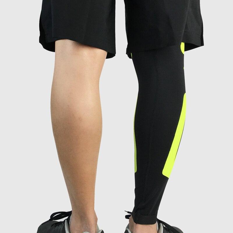 Новинка 1 шт. взрослые футбольные наколенники ножка поддержка рукав баскетбол наколенники колено протектор Поддержка икр Kneecap Спортивная безопасность