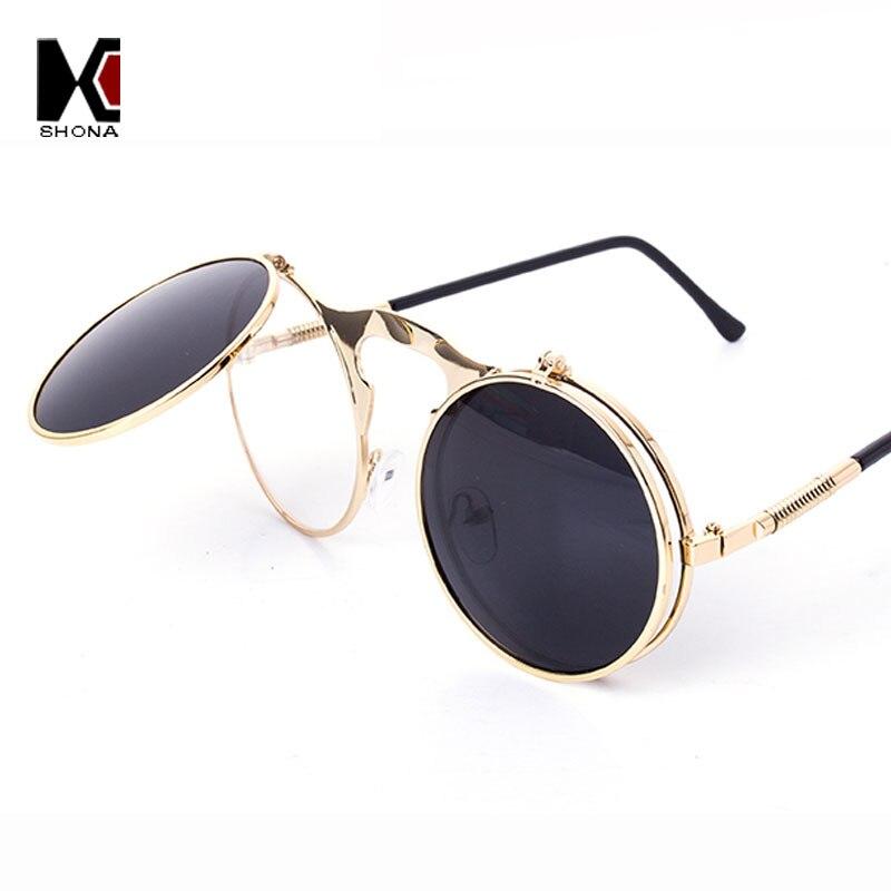 Souvent lunettes soleil homme steampunk,Ronde Vintage Gothique Steampunk  YV01