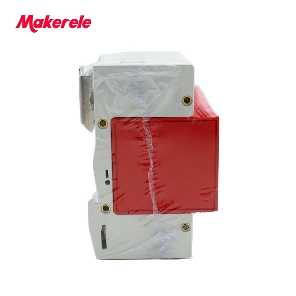 420VAC SPD 40-80KA 4P Surge Arrester Protection Device Electric House Surge Protector Lightning Protection B