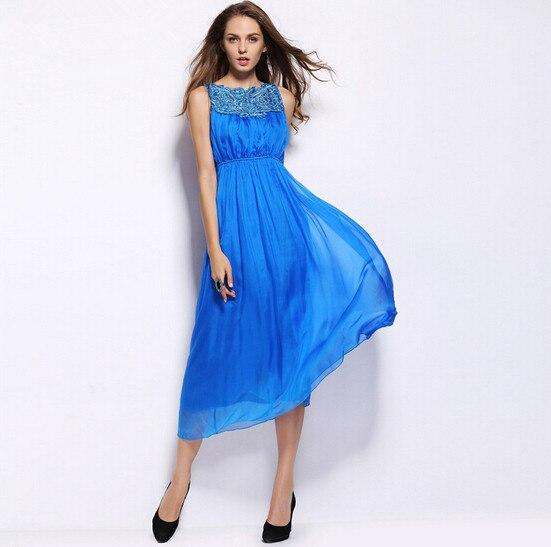 Online Get Cheap Royal Blue Casual Dress -Aliexpress.com  Alibaba ...