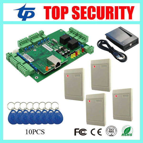 RFID card reader access control system TCP/IP communication wih free software and SDK good quality for 2 doors control rfid uhf reader writer 902 928mhz 5 meter free sdk and software for car packing system and warehouse
