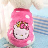 Hund Pullover Schöne Cartoon Kleidung für Hunde Chihuahua Weichen Niedlichen Pullover für Kleine Hunde Chihuahua Kleidung Mantel Warme Haustier- kleidung