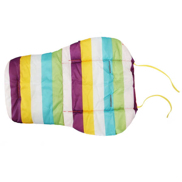 Baby stroller accessories Thicken Cotton Mat Stripe Cushion Seat Pad BB Car baby Accessory For Childern Kids