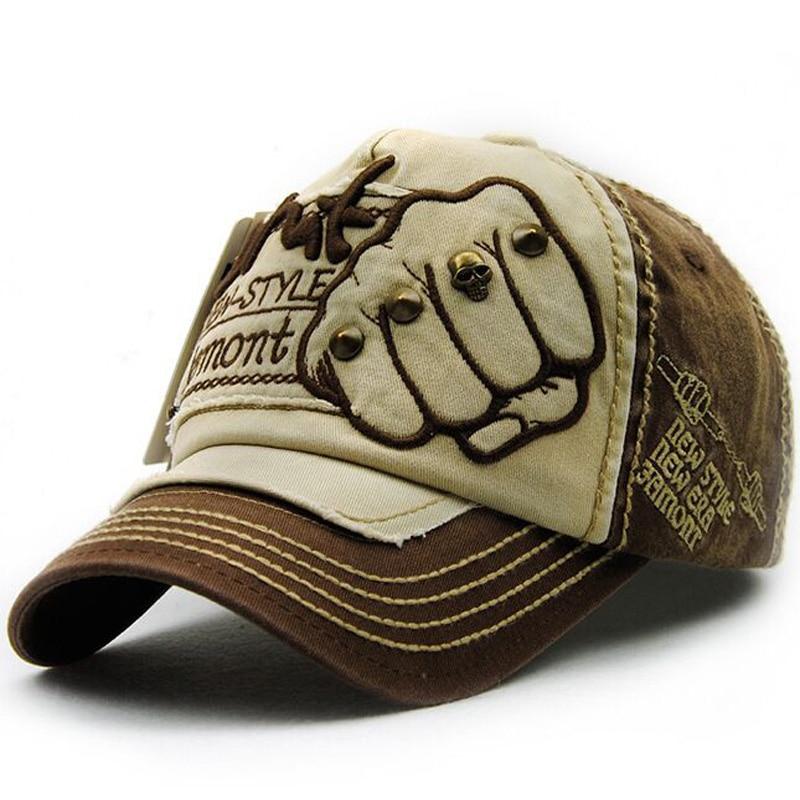 Kapelë e re unisex Snapback Rivet Fist Baseball Kapele pambuku - Aksesorë veshjesh - Foto 5