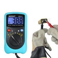 all sun EM3610 Battery Internal Resistance Meter Battery Voltage Temperature Coefficient Automotive Tester