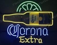 Custom CORONA EXTRA Glass Neon Light Sign Beer Bar