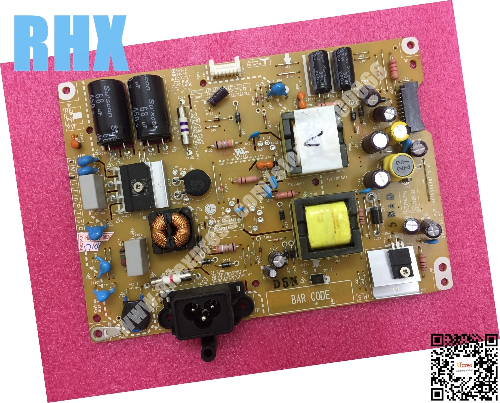 for LG 32LB5800-CB 32LB5610-CD LCD TV power panel EAX65391401 LGP32-14PL1 and LGP32I-14PL1 is used power supply board for lg 32lb5610 power board lgp32 14pl1 eax65391401 lgp32i 14pl1 original used