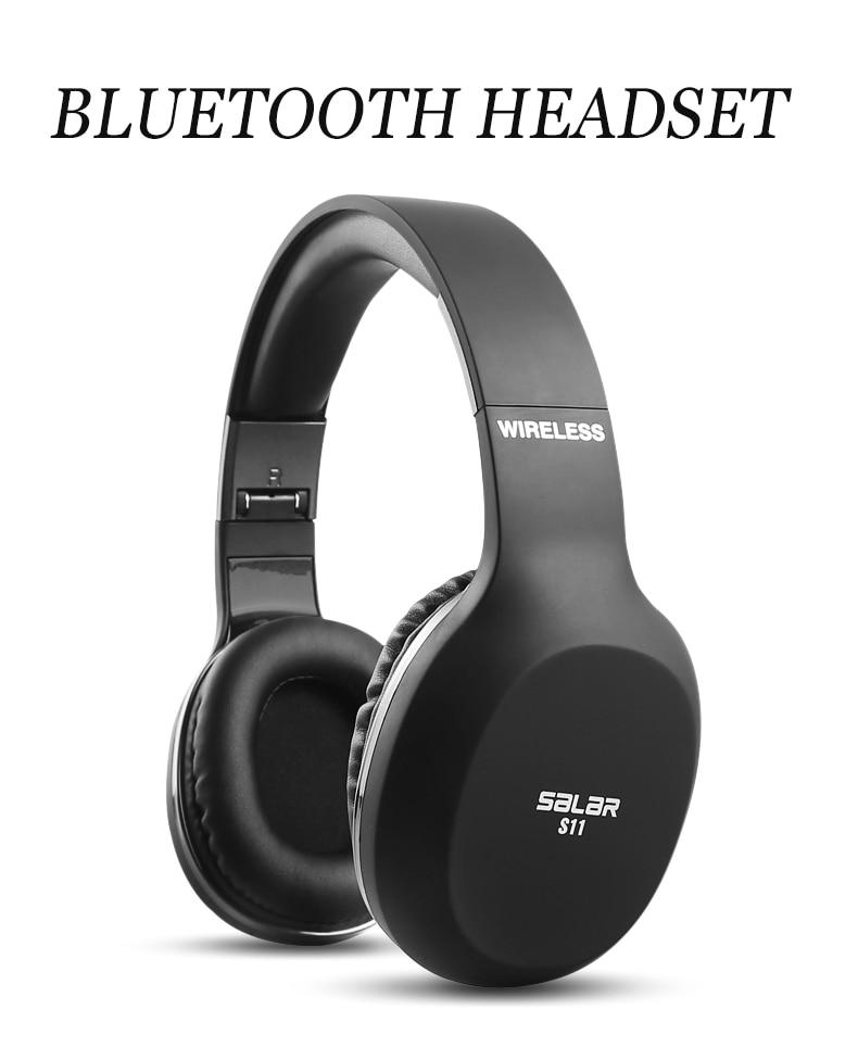 Salar S11 Fone de Ouvido Sem Fio Bluetooth