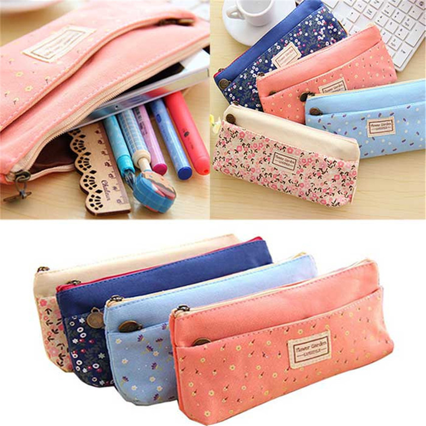 Lovely Cute Multi-Fuctional Pencil/Pen Case Bag Pounch Cosmetic Makeup Bag Case oct1025 Extraordinary