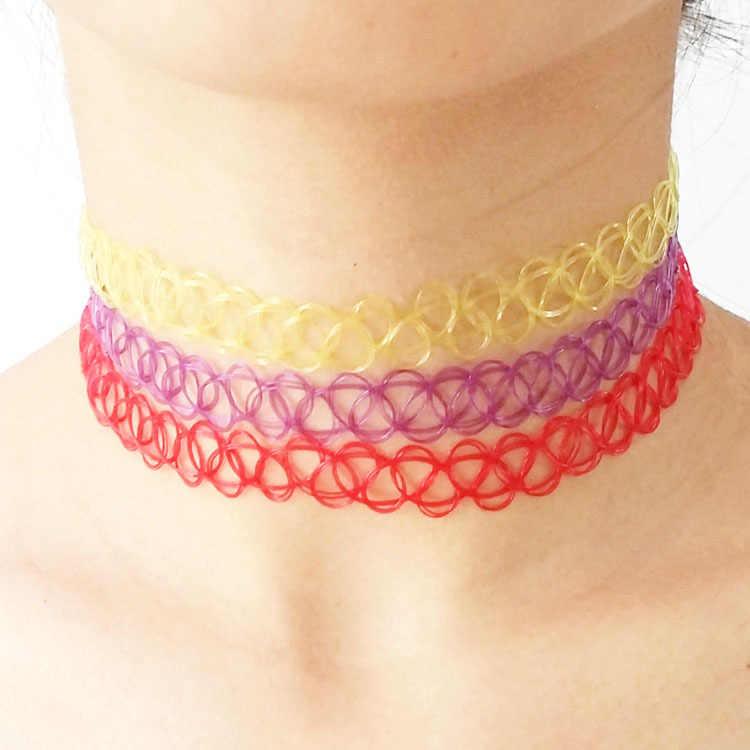 1 sztuk biżuteria wakacje plaża Waterdrop Choker naszyjniki naszyjniki dla damski łańcuszek biżuteria naszyjnik
