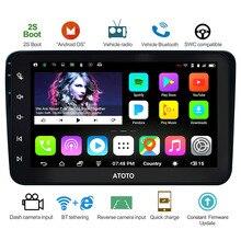 ATOTO A6 Android de Navegação GPS Do Carro Estéreo/Selecionados para VW Volkswagen Skoda &/2 * Bluetooth/Prémio a6YVW821P/Auto Rádio Multimídia