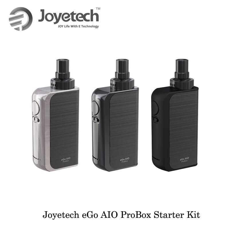 Original Vaporizer Joyetech eGo AIO ProBox Kit 2100mAh Mod Kit 2ml capacity Electronic Cigarette VS Joyetech Ego Aio Box Vape