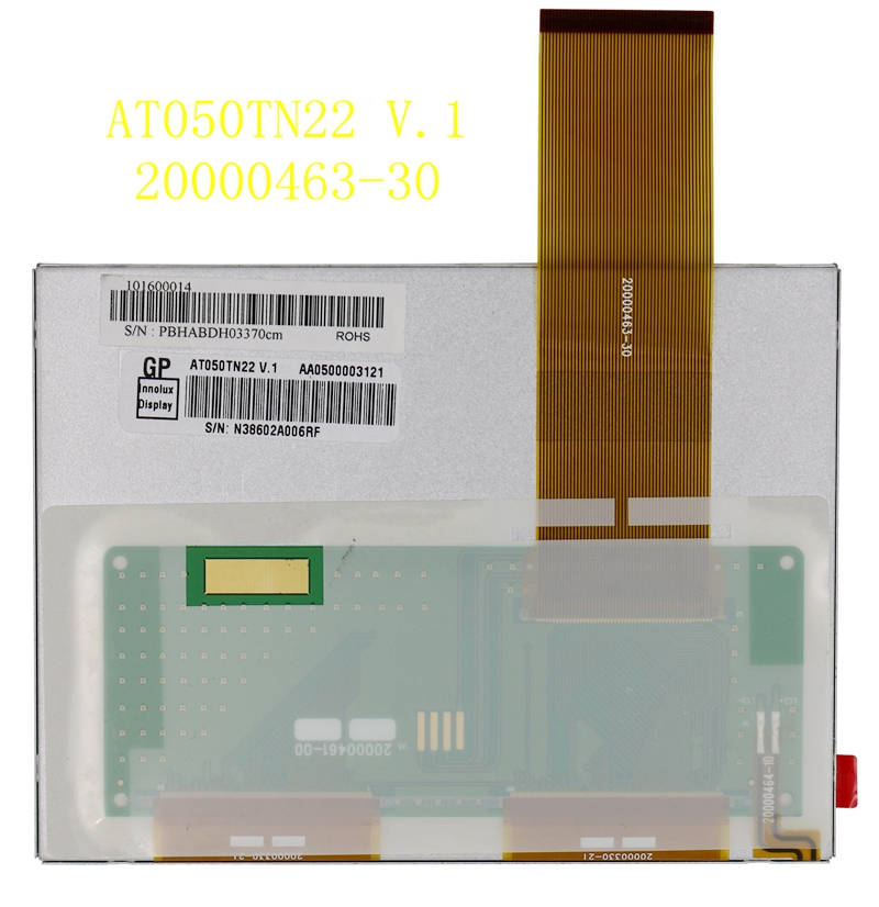 New genuine 5 inch AT050TN22 V.1 20000463-30 display LCD screenNew genuine 5 inch AT050TN22 V.1 20000463-30 display LCD screen
