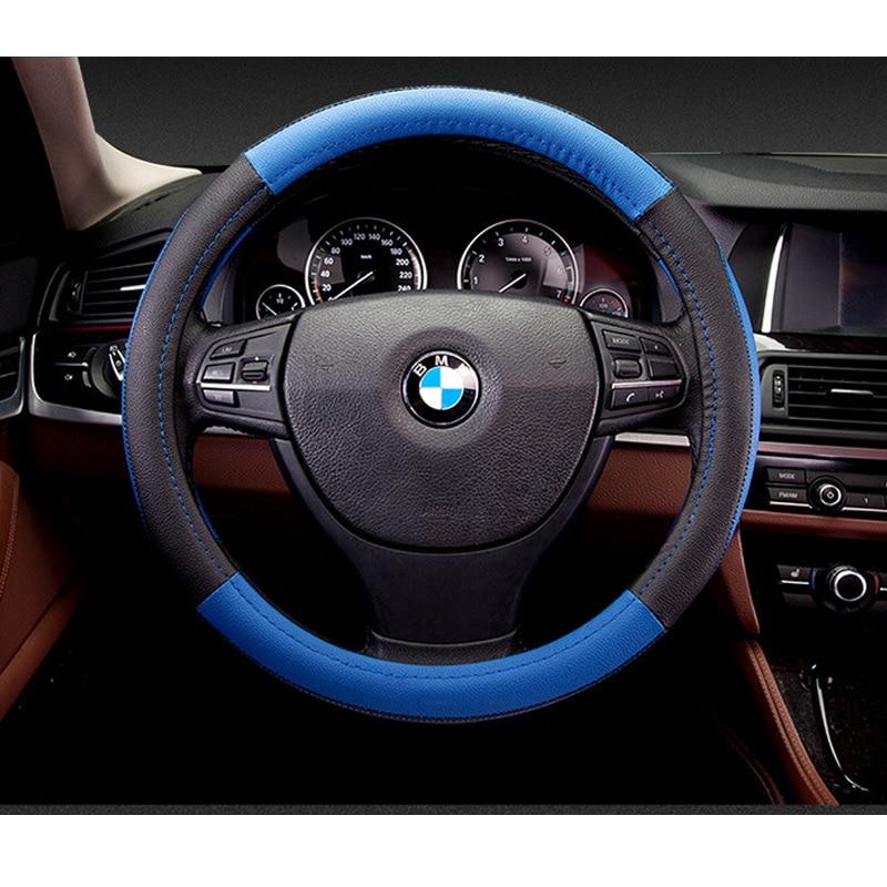 Nuevo deporte de lujo cubierta del volante del coche Seansons - Accesorios de interior de coche - foto 5