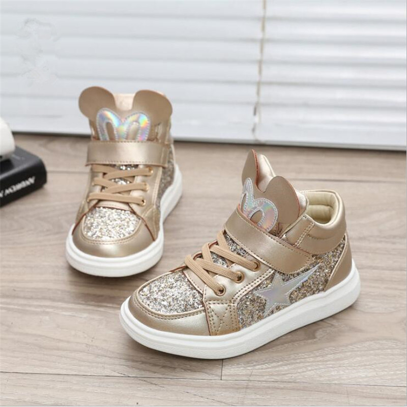 Girls sports shoes spring and autumn new 2019 boys shoes winter children's casual girls shoes