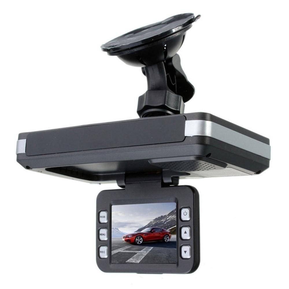 Dash Camera Front and Rear 2 in 1 MFP 5MP Car DVR Recorder + Radar Speed Detector Cycle Recording G-Sensor APR16