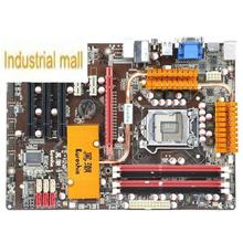 Spartacist black bi-751 h55 all-solid motherboard atx large-panel 1156 needle