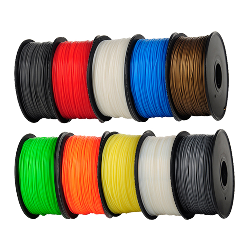 PLA 3mm 1Kg/spool Plastic Rod Rubber Ribbon Consumables Material Refills for MakerBot/RepRap/UP/Mendel 3D Printer Filaments abs gold filaments 1 75mm 1kg spool wanhao 3d printer