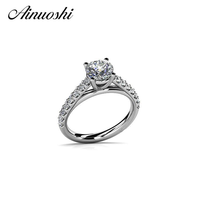 546f1c2cf61c ộ_ộ ༽Ainoushi Винтаж Круглый Cut SONA кольцо Подлинная 925 Твердые ...